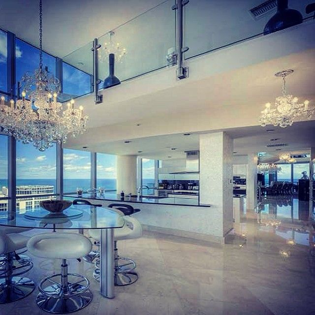 Miami urban living penthouse 6 999 000 direct ocean sky for Jade ocean penthouse
