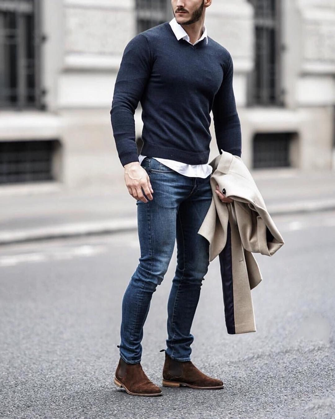 Layered Neutrals #stylishmen