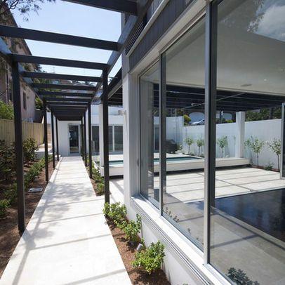 Glass Corridor Design Ideas Pictures Remodel And Decor