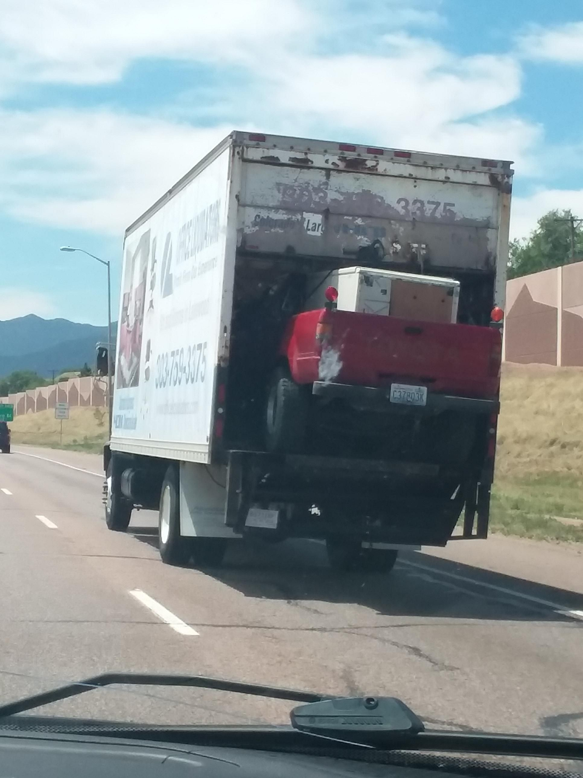 Spotted In Colorado Springs This Morning Forklift Osha