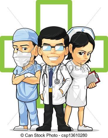 Funny Nurse Clip Art | , stock clip art icon, stock clipart icons ...