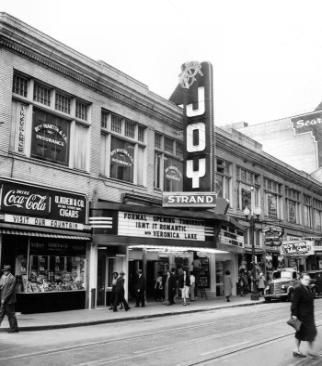 New Orleans Joy Theater Vintage Photograph New Orleans History New Orleans Louisiana Joy Theater