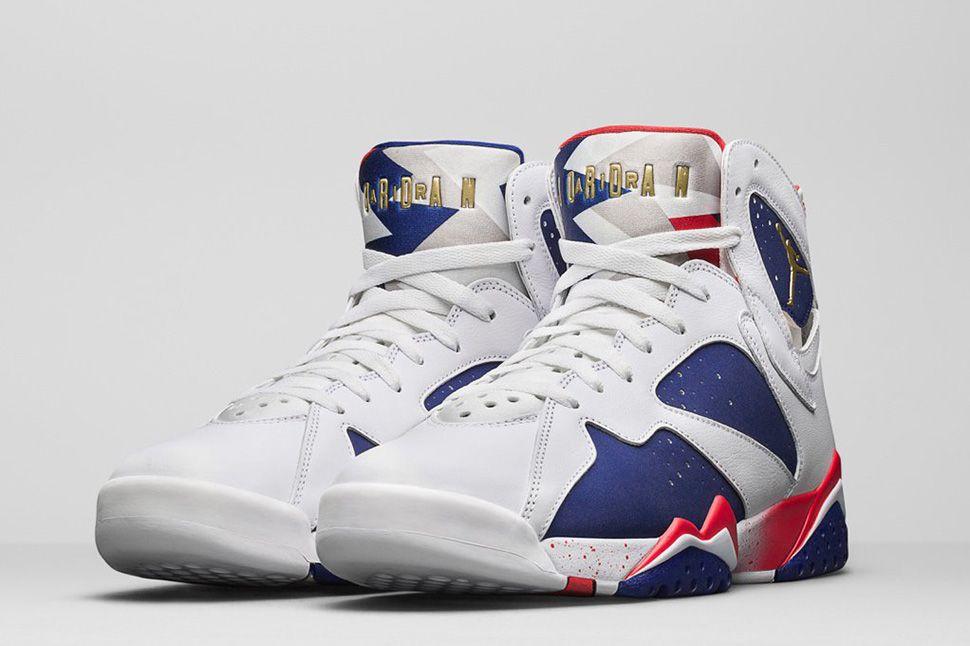 "1a0658852375e2 Air Jordan 7 Retro ""Tinker Alternate Olympic"" (Detailed Pics   Release Date)"
