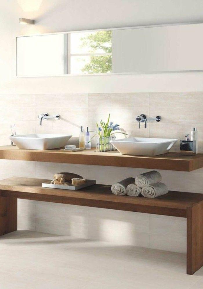 badezimmer deko mdderne bader badezimmer in braun und weis - badezimmer weis