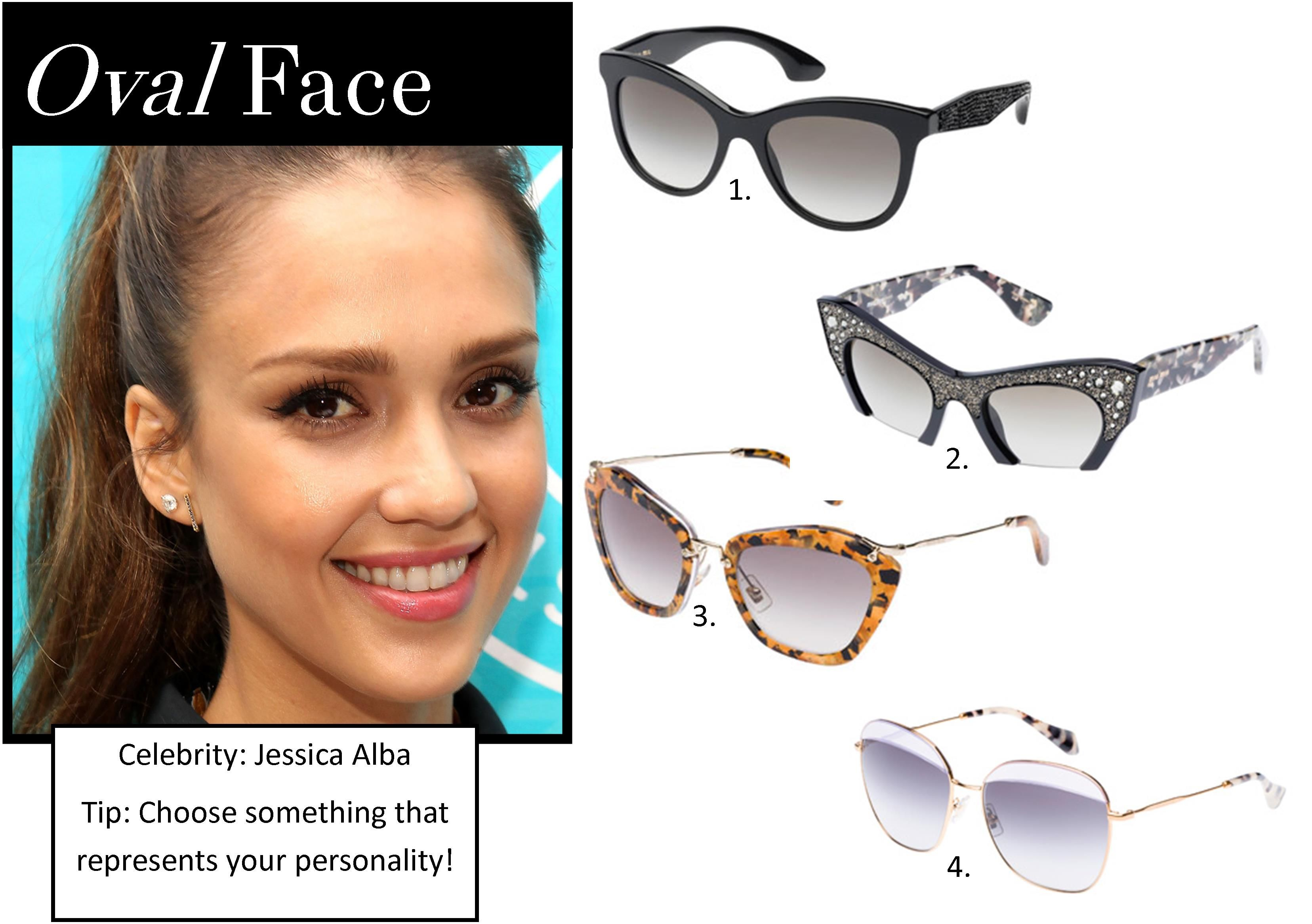 6e3285b19959 Sunglasses – The best styles for your face shape