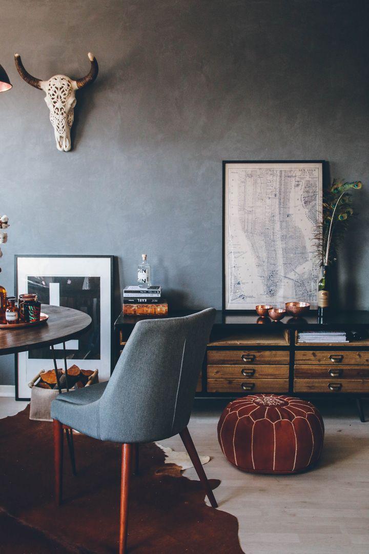 Mallonmoves projekt betonwand interior betonwand - Betonwand wohnzimmer ...