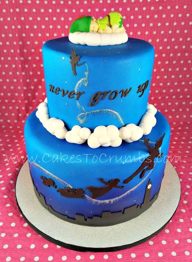 Peter Pan Baby Shower Cake Disney Baby Shower Peter Pan Disney