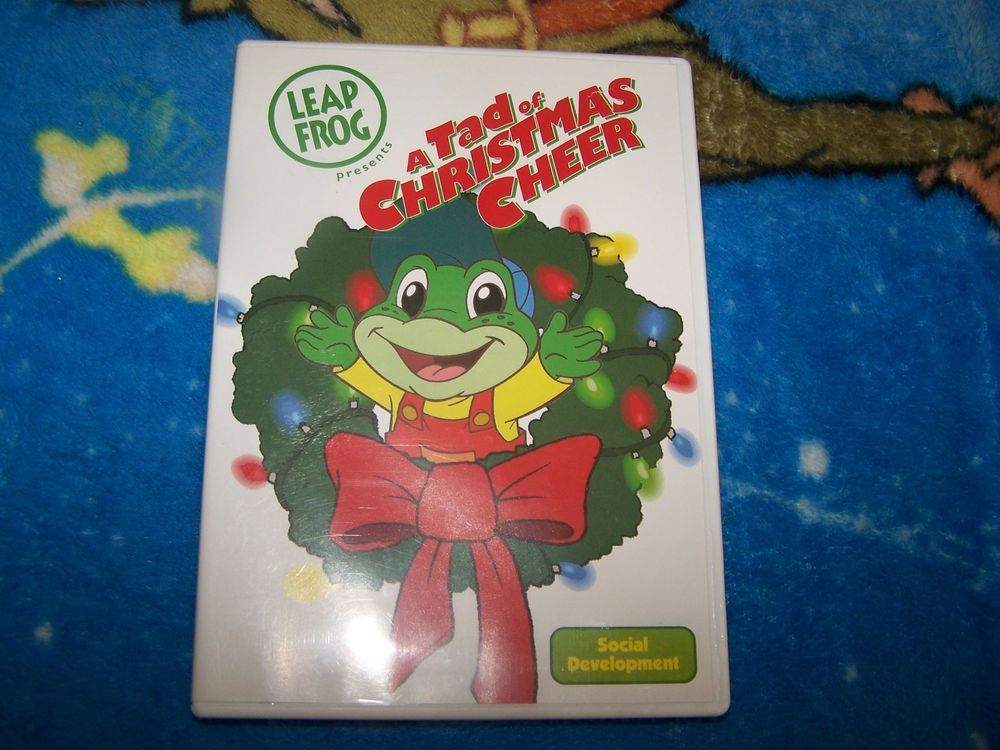 Leapfrog A Tad Of Christmas Cheer Dvd.A Tad Of Christmas Cheer Dvd 2007 Leapfrog Disc Is Mint