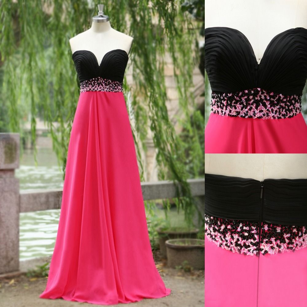 Vestidos 2015 pink and black bridesmaid dress for wedding prom vestidos 2015 pink and black bridesmaid dress for wedding prom dress maxi women cheap dress with ombrellifo Gallery