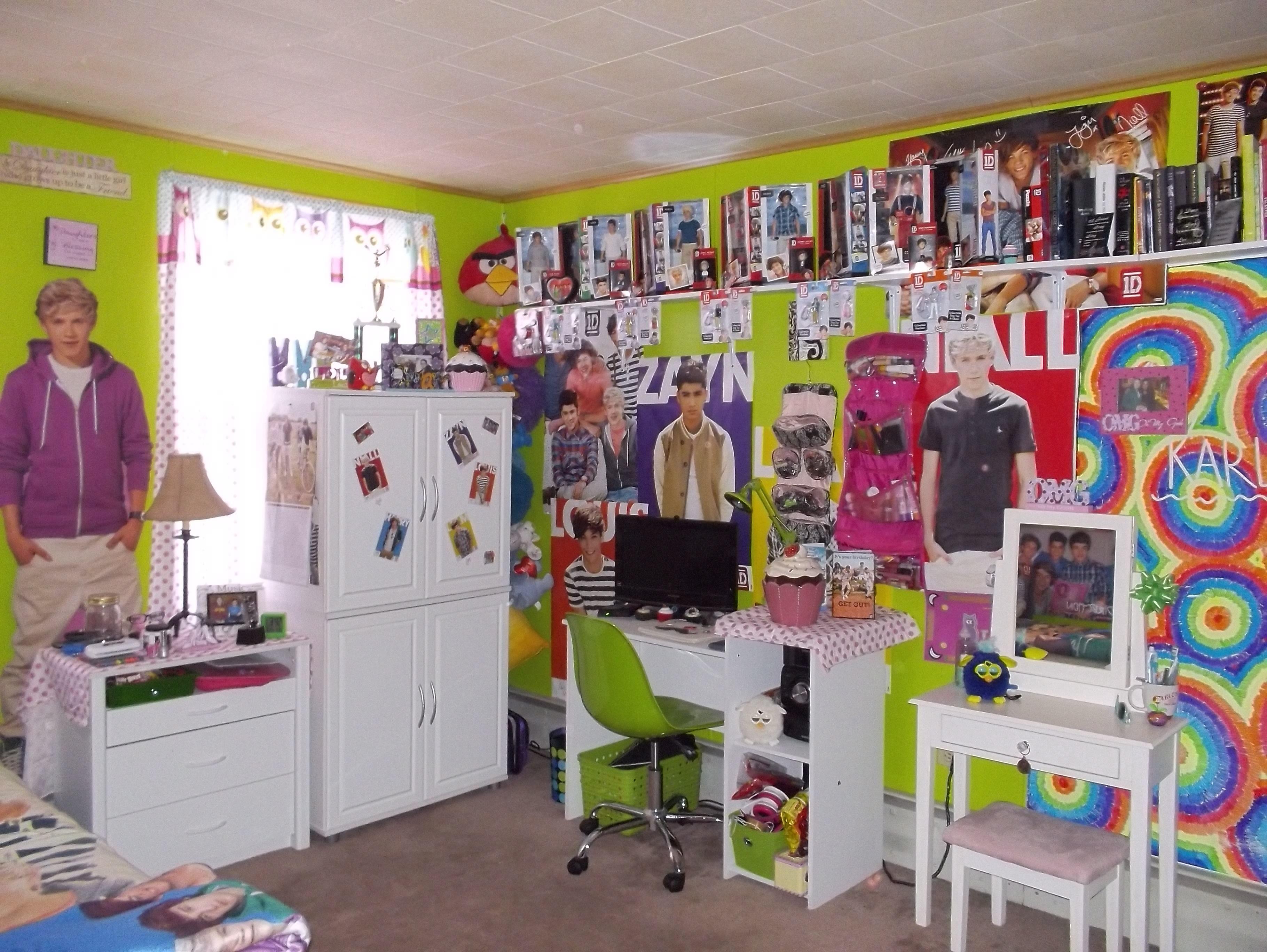 One Direction Bedroom My Daughters 1d Bedroom 1d One Direction Bedroom Pinterest