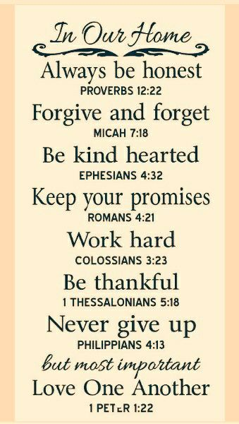 biblical verse for family inspirational quotes