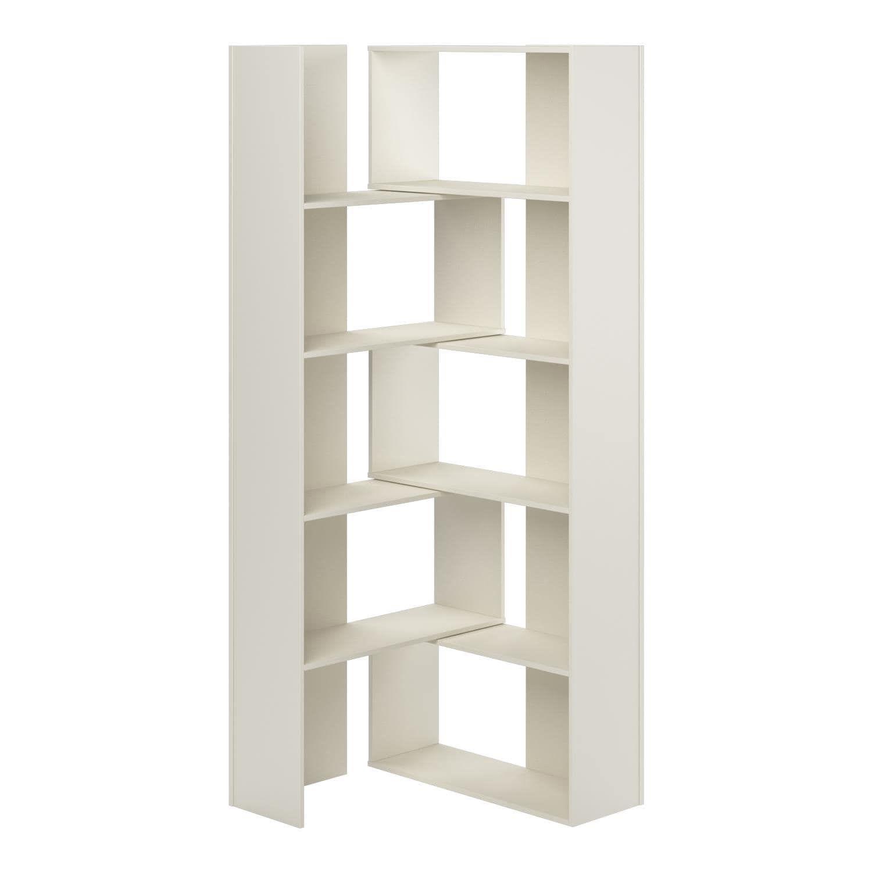 Altra Transform White Expandable Bookshelf Transform Altra