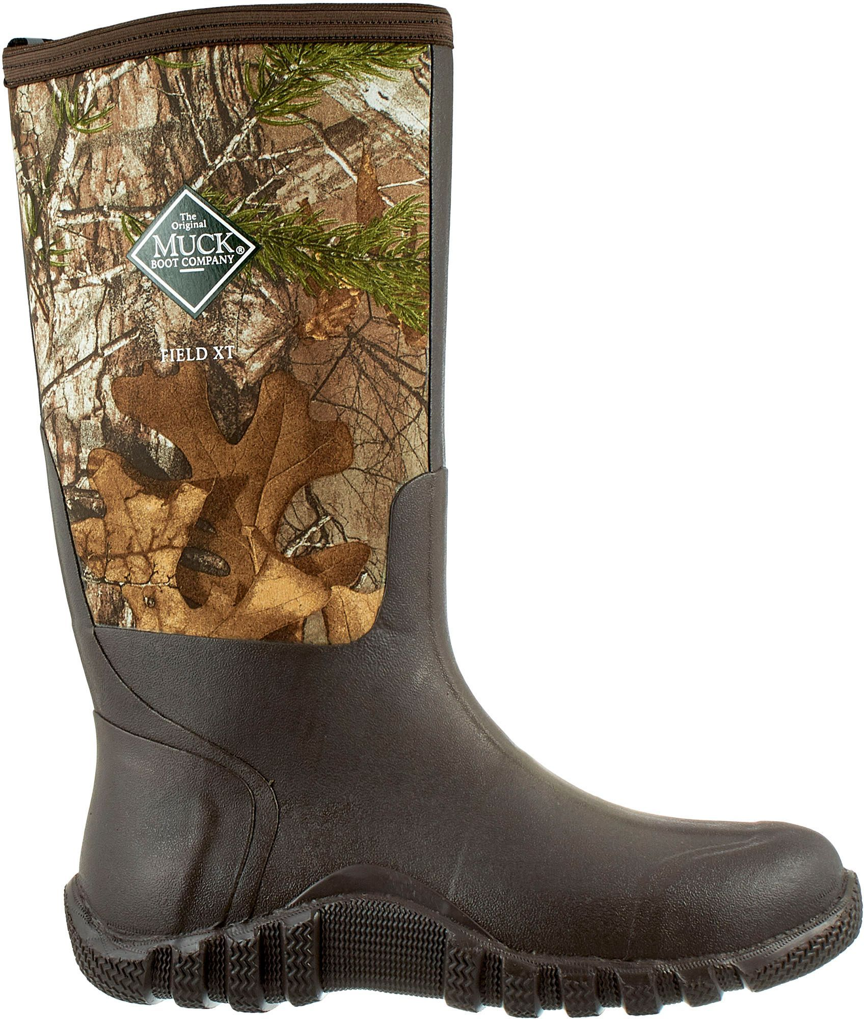 805c3654ab2c Muck Boots Men s Fieldblazer Realtree Xtra Rubber Hunting Boots