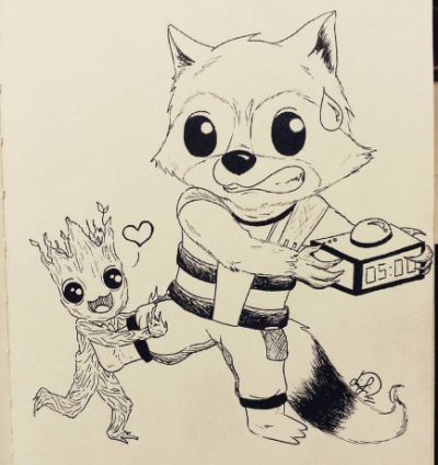 Pin By Jen Stetler On Baby Groot Pinterest Gardians Of The