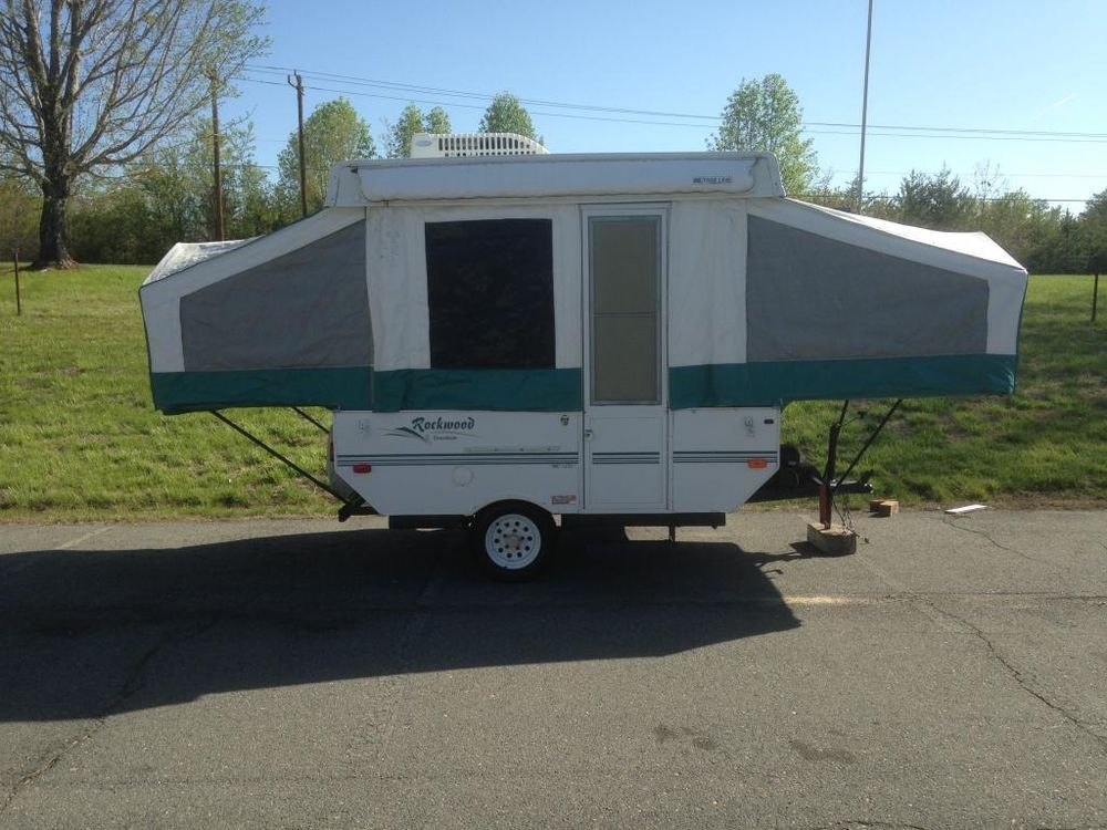 2003 Rockwood Freedom 1640 Ltd Pop Up Camper Trailer W A C Awning