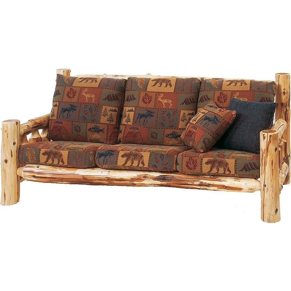 Log Cabin Sleeper Sofa Rustic Sofa Sofa Styling Rustic Couch