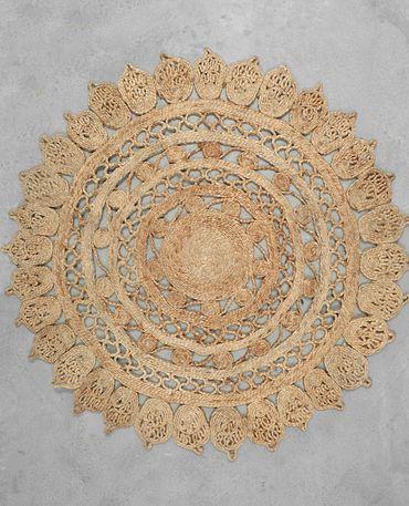 Alfombra yute círculos – Mrs Boho
