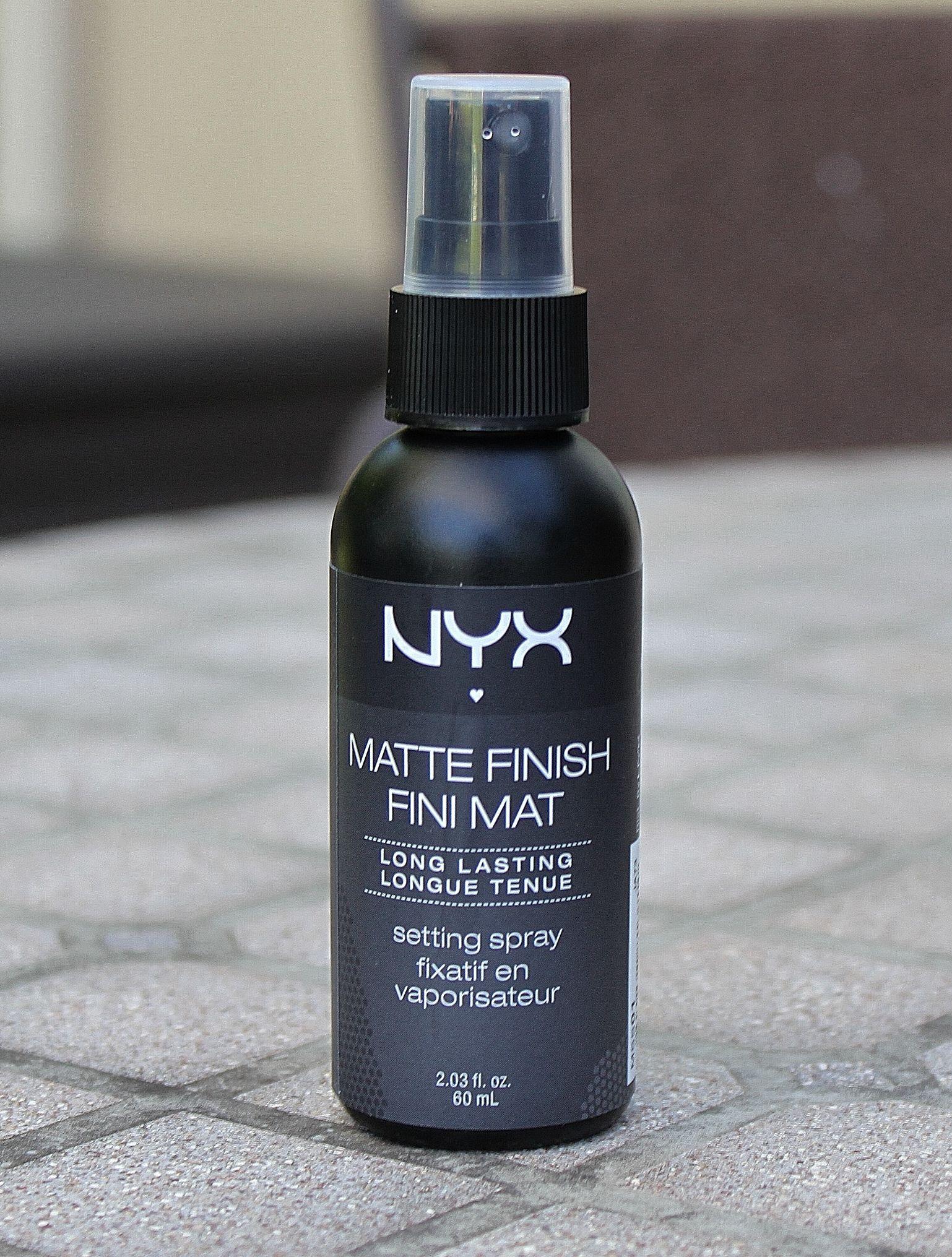 Nyx Matte Finish Setting Spray ♥ Photos & Review Nyx