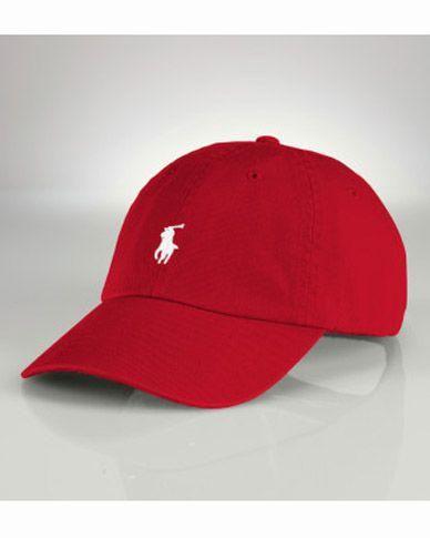 b42e1a86bc7de Gorra Polo HD41 Gorra Polo Ralph Lauren De Beisbol Rojo Logo y Precio De La  Baja