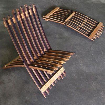 diy chair plans Wine Barrel Furniture Plans Easy DIY