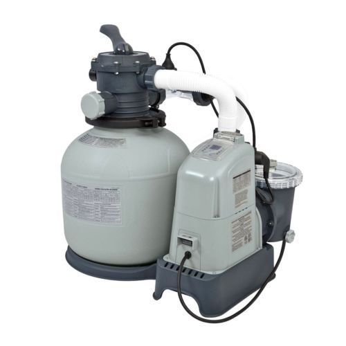 120v Krystal Clear Sand Filter Pump Saltwater System Above Ground Pools Outdoor Intex Above Ground Pools In Ground Pools Pool Chemicals