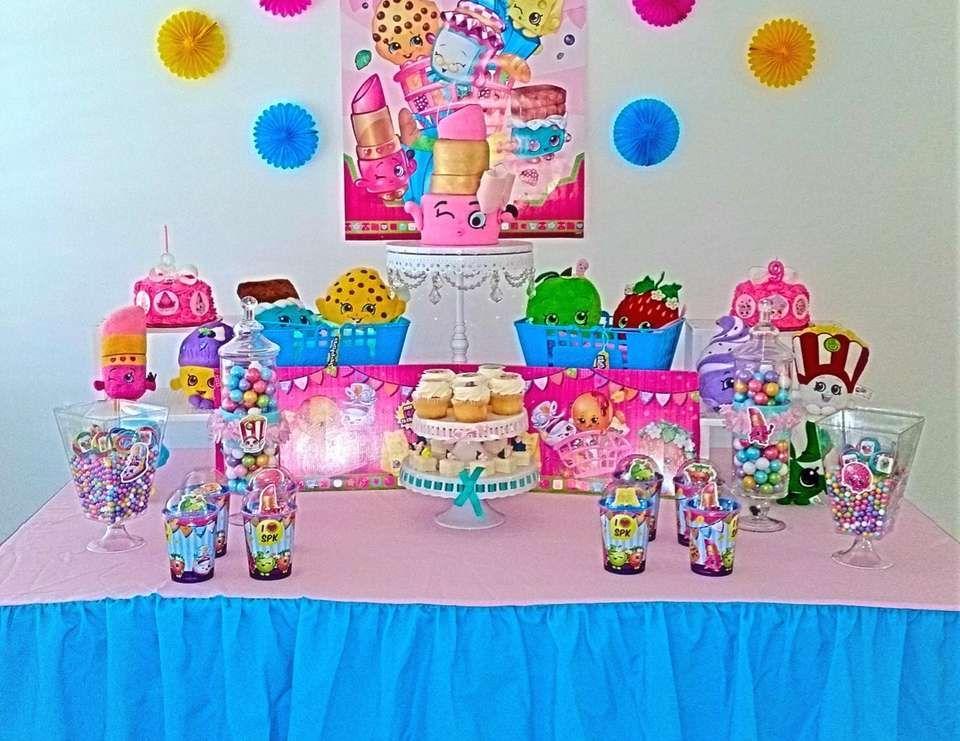 Shopkins Birthday Isabella S Shopkins Party Catch My Party Shopkins Birthday Shopkins Birthday Party Shopkins Party
