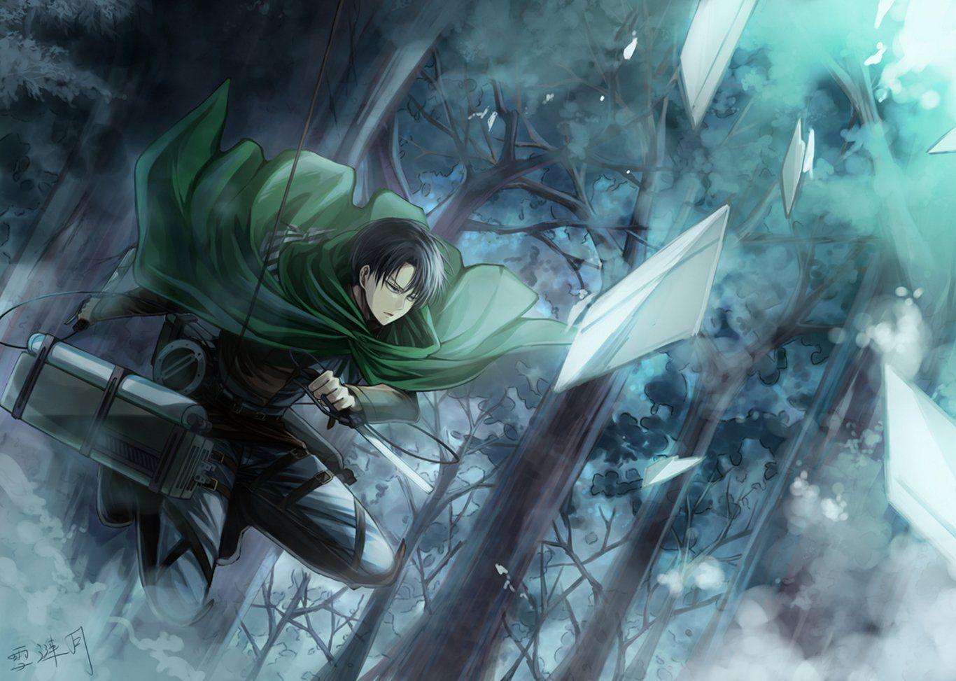 Anime Attack On Titan Attack On Titan Levi Ackerman Wallpaper Attack On Titan Levi Attack On Titan Art Attack On Titan