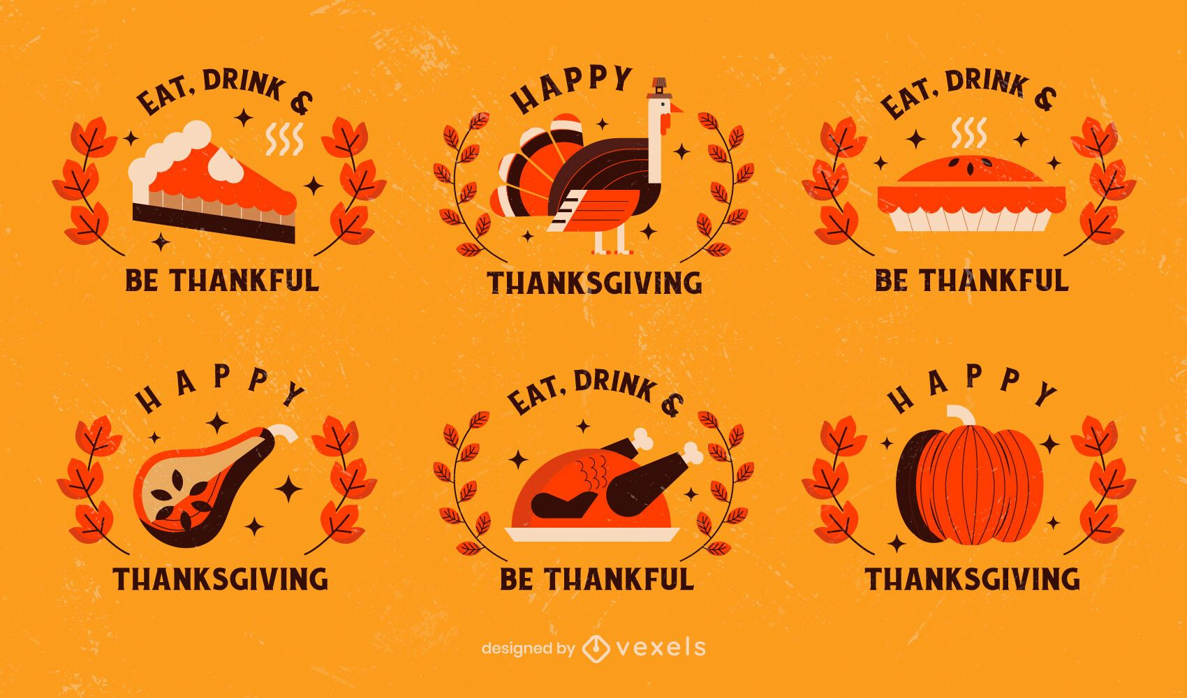 Thanksgiving Badge Pack In 2020 Different Quotes Thanksgiving Sale Ads Thanksgiving Letter