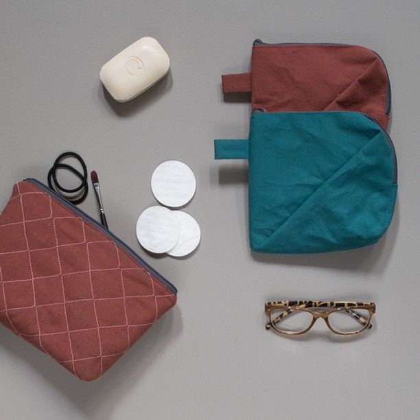 """""""The water-repelling fabric inside the purses makes them ideal toiletry bags,"""" Anna suggests. Prices from DKK 18,80 / SEK 26,60 / NOK 26,80 / EUR 2,64 / ISK 498 / GBP 2.54"""