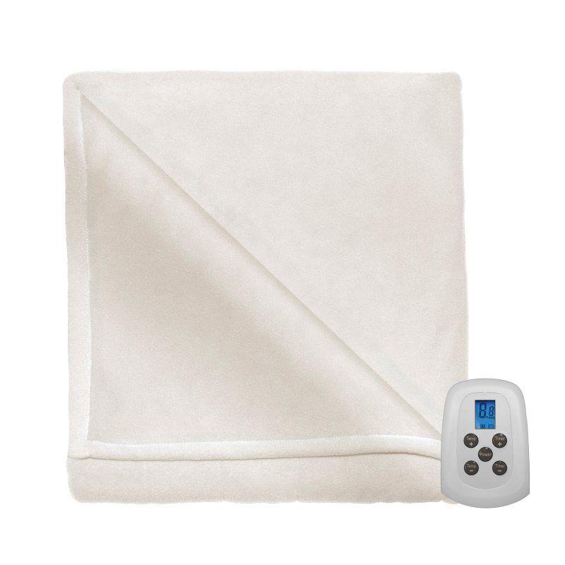 Serta Fleece Blanket Natural - 835479