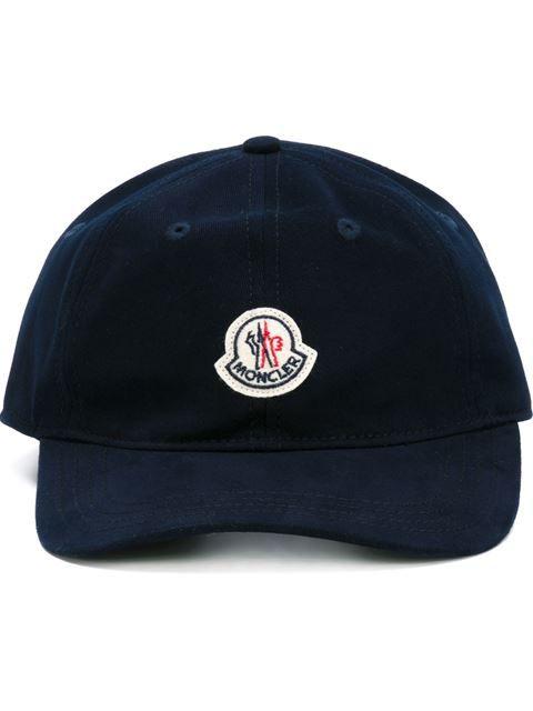 MONCLER logo patch baseball cap.  moncler  logo-patch  8dbb230c4e7