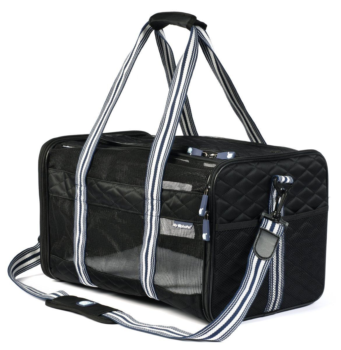 Deluxe Soft Sided cat Carrier * Find out more details by