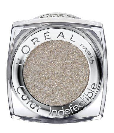 color infallible eyeshadowl'oreal time resist white