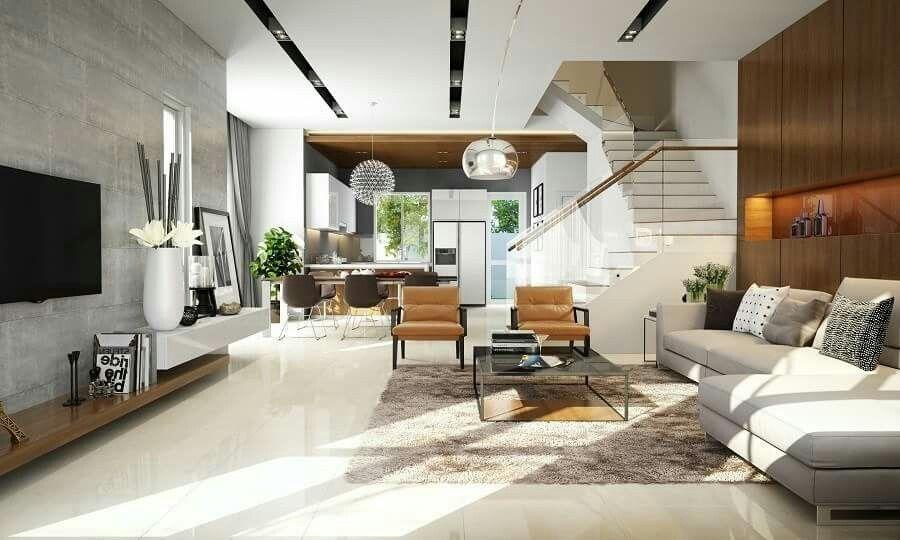 sala comedor cocina y escaleras decoracio sala comedor