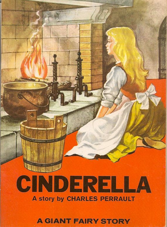 VINTAGE KIDS BOOK Cinderella A Giant Fairy Story