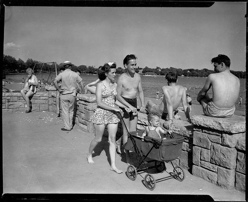 Vintage black and white photography beach club vintage black white photo flickr photo sharing