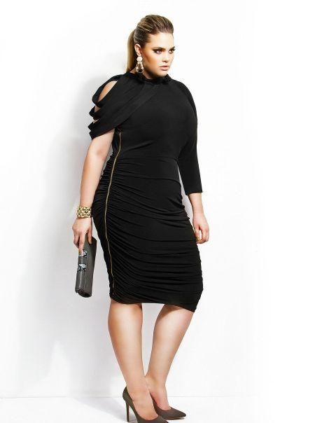 46d108abdba Plus Size Ruched Dress - Monif C