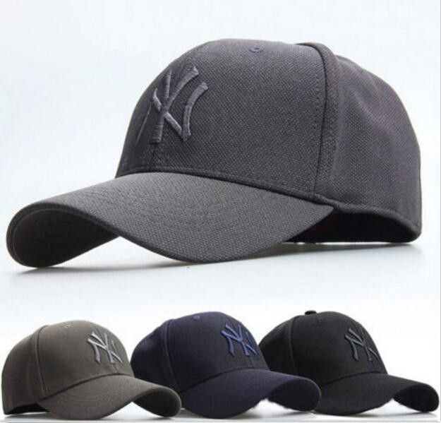Mens Women Baseball Hat NY YANKEES Cap Curved Flex Snapback Sport Golf  Hip-Hop Hat Outdoor Hiking Quick-drying Cap 0474de92750