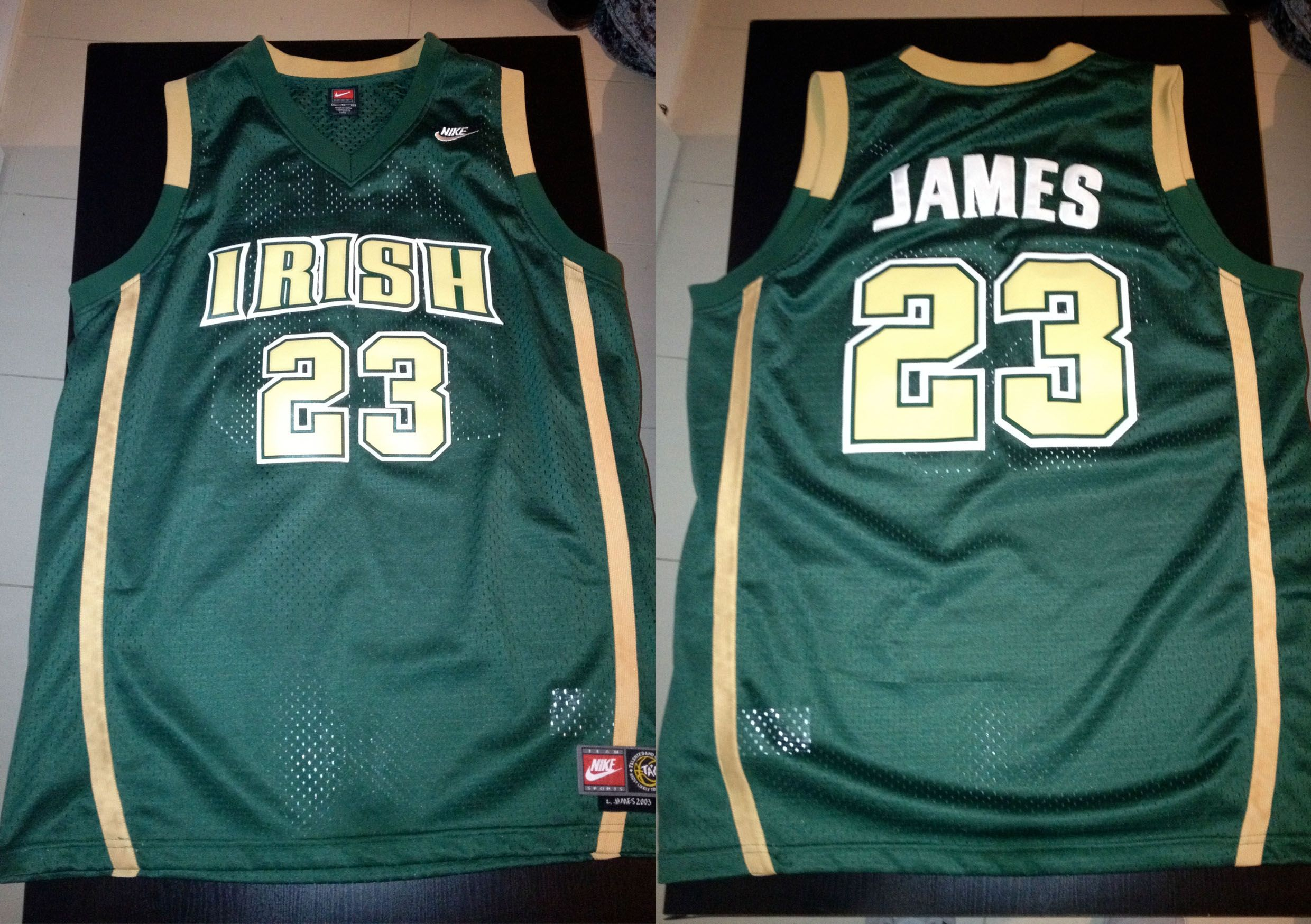 quality design 0bb89 d6052 Lebron James - St. Vincent St. Mary High School - USA | King ...