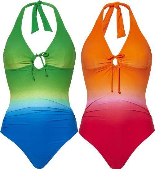 Tweka Badpak Grote Maat.Tweka Badpak Dip Dye Badpakken Swimwear One Piece En Fashion