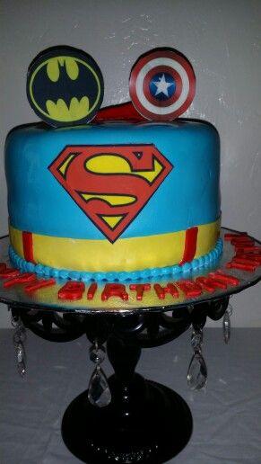 #superherocake Www.babygottcakes.com