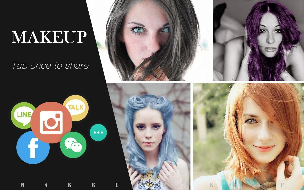 App that Shows You with Different Hair Color - Best Hair Color for ...