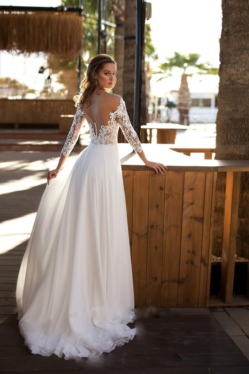 Couture Lace Wedding Dress Bridal Gown With Lace Top Simple Wedding Gown With Lace And Atlas Skirt In 2021 Floral Wedding Dress Wedding Dresses Lace December Wedding Dresses [ 1191 x 794 Pixel ]
