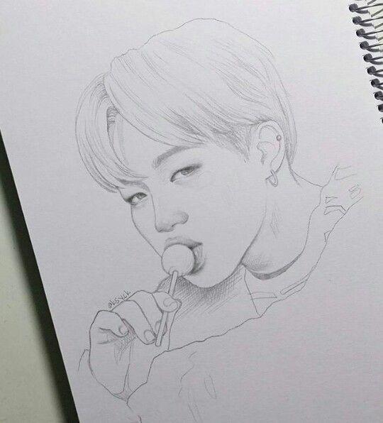 sketch inspiration bts