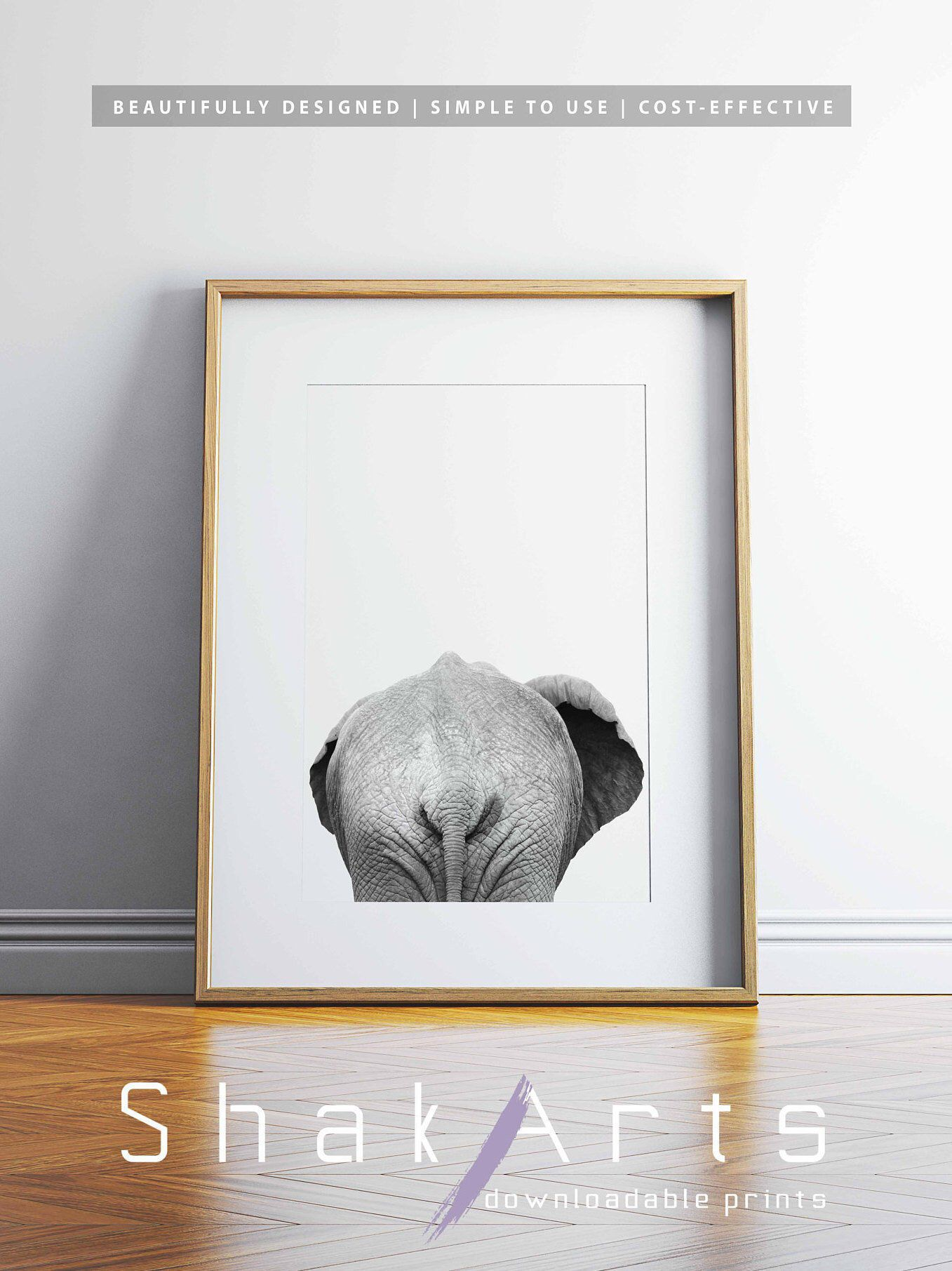 Elephant Print Funny Bathroom Art Elephant Decor Elephant Etsy In 2020 Funny Bathroom Art Elephant Wall Art Elephant Decor