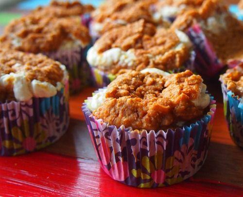 75 Calorie Pumpkin Cream Cupcake Recipe