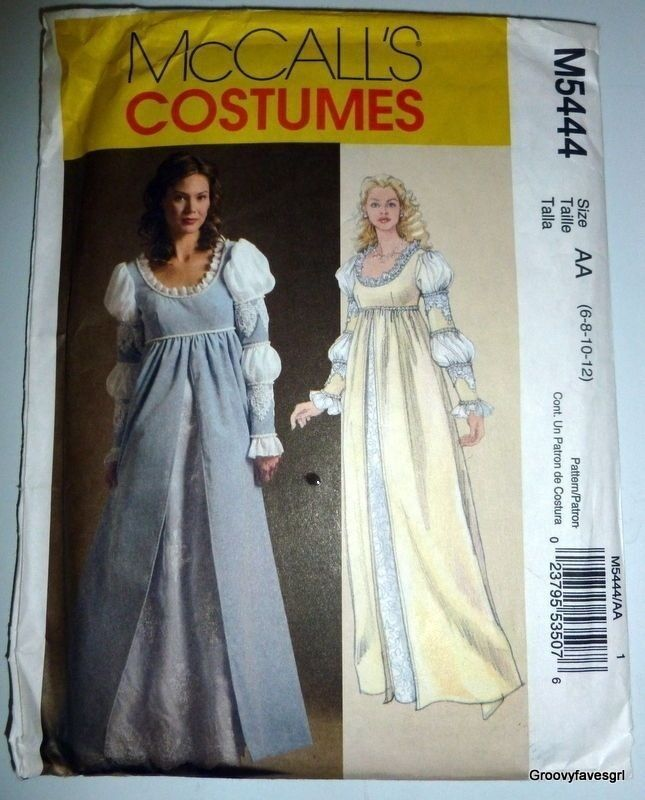 Italian Renaissance Medieval Historical Dress Gown Costume Sewing ...