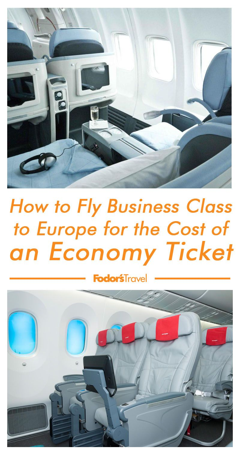 How to Fly Business Class to Europe for the Cost of an