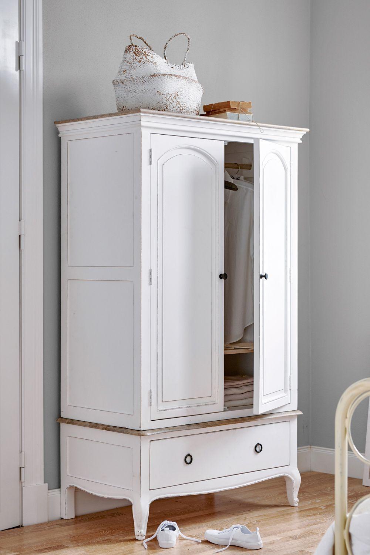 Modern Decor Armoire Blanche Armoire Blanche Armoire Repurpose Bedroom Wardrobe Closet Armoire Farmhouse Armoire In 2020 Armoire Makeover Armoire Locker Storage