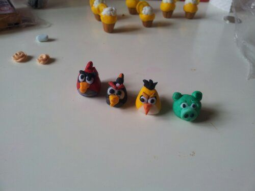 angry birds charms